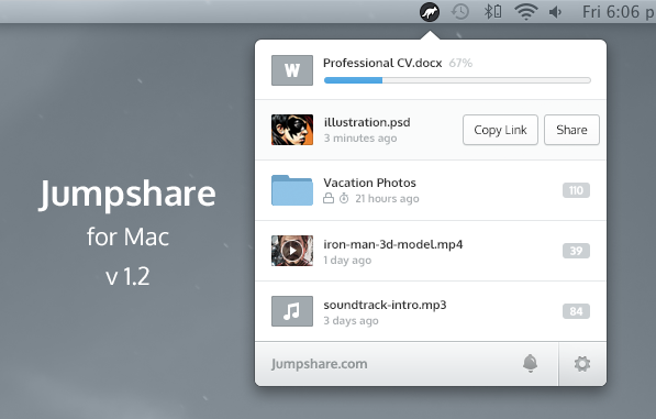 jumpshare mac 1.2