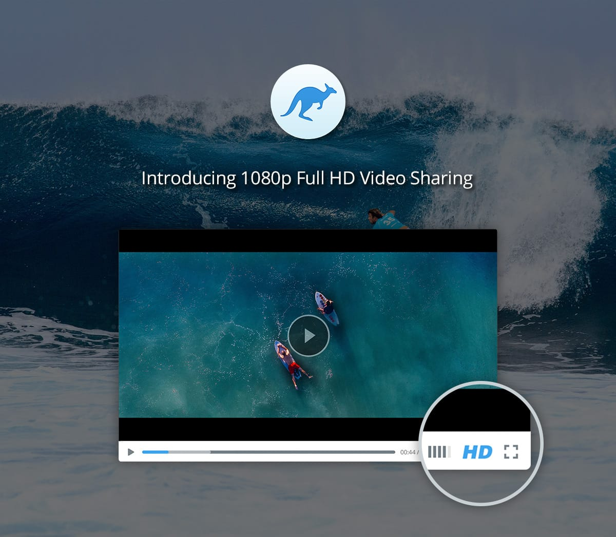 Full HD video sharing