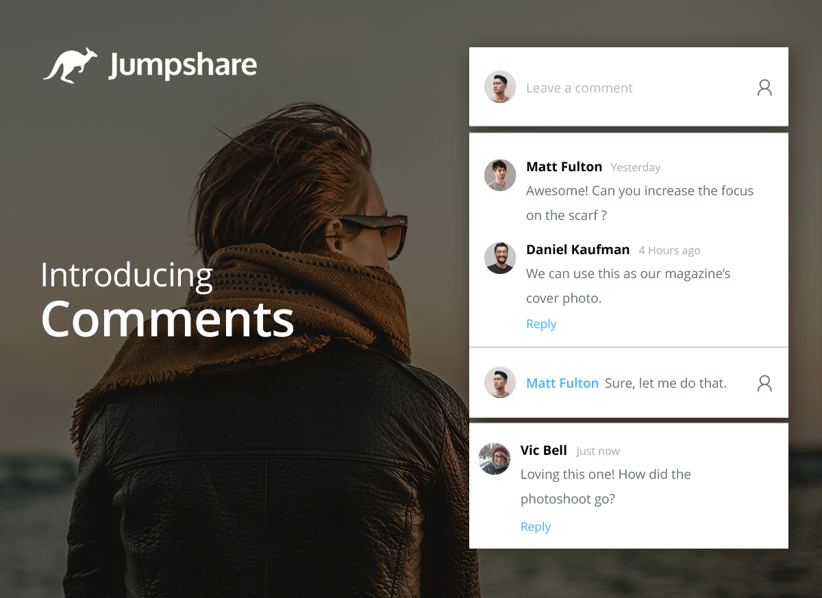Jumpshare Introducing File Comments
